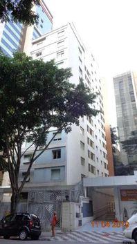 Apartamento com 1 dormitório para alugar, 45 m² por R$ 1.300/mês - Santa Cecília - São Paulo/SP