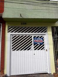 Casa com 2 dormitórios para alugar, 100 m² por R$ 1.100/mês - Jardim Brasília (Zona Leste) - São Paulo/SP