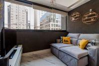 Studio mobiliado à venda com 28m² na Vila Olímpia