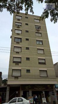Apartamento com 1 quarto e Jardim, Porto Alegre, Cidade Baixa, por R$ 220.000