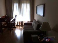 Apartamento com 1 quarto e Area servico, São Paulo, Brooklin Paulista, por R$ 375.000