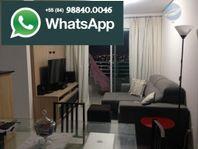 Apartamento mobiliado com 2 quartos, sendo 1 suíte, em Candelária - Natture Condomínio Clube