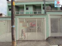 Sobrado residencial à venda, Vila Frugoli, São Paulo.