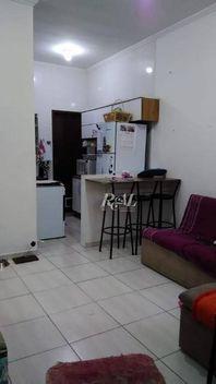 Casa com 2 dormitórios à venda, 48 m² por R$ 140.000,00 - Samambaia - Praia Grande/SP