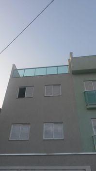 Cobertura com 2 dormitórios à venda, 76 m² por R$ 270.000 - Vila Scarpelli - Santo André/SP