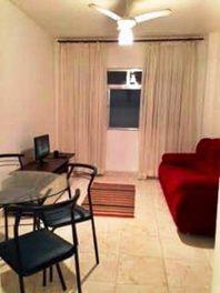 Apartamento residencial à venda, Tombo, Guarujá.
