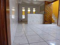 Casa com 3 dormitórios para alugar, 80 m² por R$ 1.200/mês - Vila Helena - Santo André/SP