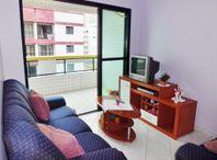 Apartamento residencial à venda, Campo da Aviação, Praia Grande - AP1242.