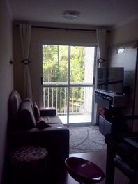 lindo apartamento de 2 dormitórios em condomínio com lazer completo.