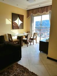 Lindo apartamento, mobiliado, com lazer gourmet completo, no ultimo andar,  Jardim Guarani, Jundiaí.