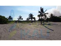 Venta Terreno frente al mar 5,572 m² playa Tuxpan Veracruz, La Barra Norte