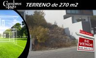 Se Vende Terreno de 270 m2 en Cumbres del Lago, de OPORTUNIDAD !!