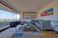 LAS CONDES, SAN DAMIAN, Lindo departamento con gran vista en condominio.