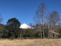 Parcelas a 5 min de Pucon con vista al volcán y vertiente