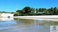 Terreno a venda na praia de Porto Mirim, Muriú