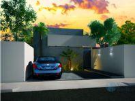 Hermosa casa de una planta en Cholul