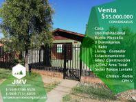 Vendo Casa Villa Padre Hurtado. Chillán