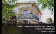 Venta de casa dos pisos cercana a Plaza Maipú