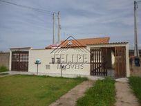 Casa Nova em Peruíbe, 2 dormitórios, sala, cozinha, banheiro social, próximo a praia.