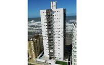 apartamento em mongagua novo frente mar 2 dormitorios 1 suite sala 2 ambientes cozinha 1 vaga