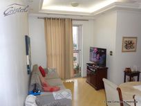 Apartamento com 2 quartos e Sauna na Rua Doutor Paulo Ribeiro Coelho, São Paulo, Jardim Ester Yolanda, por R$ 320.000