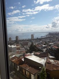 Venta departamento 2D/1B/1E C° Bellavista, Valparaíso