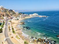 Gran departamento de 200 m2 totales, con insuperable vista al mar, Cochoa