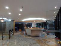 O Edifício Corporate Plaza localizado na Chácara Santo Antônio, próximo a Avenida Marginal Pinheiros.
