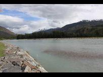 Campo con 4 kilómetros y medio de río, ubicado en Cochrane.